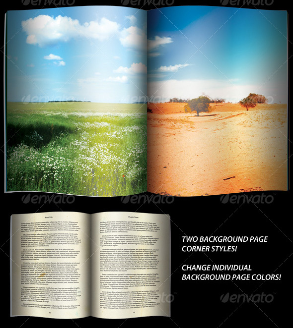Open Magazine or Book Template_18
