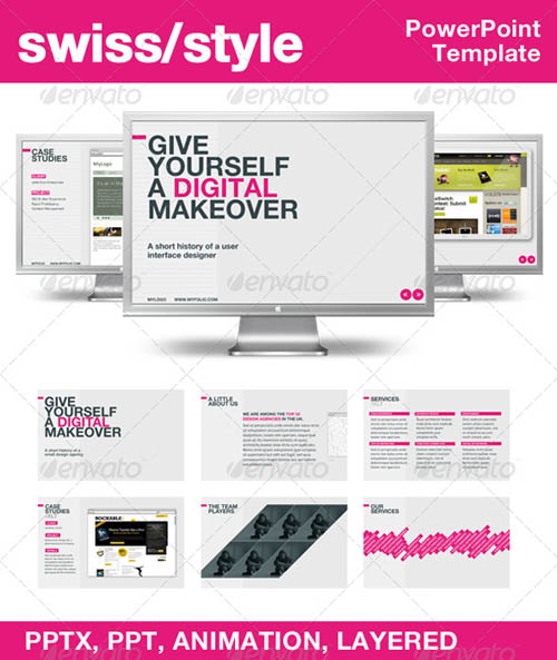 30 best powerpoint templates template idesignow swiss style powerpoint template1 toneelgroepblik Image collections
