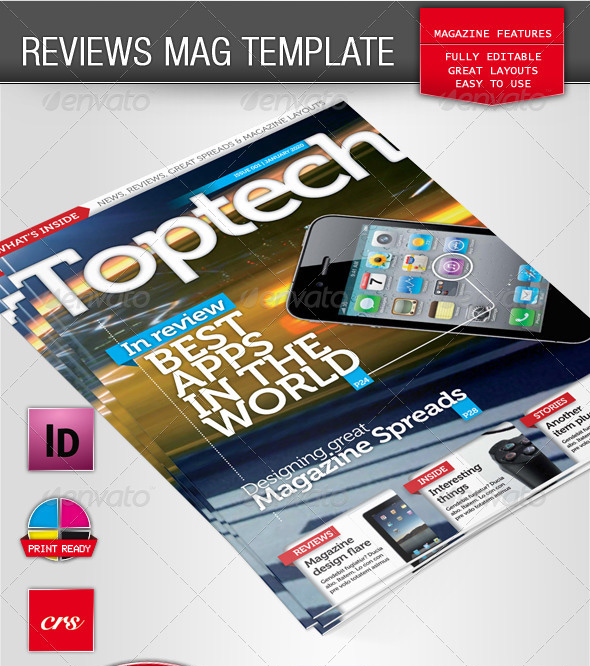 Tech Reviews Magazine Template_13