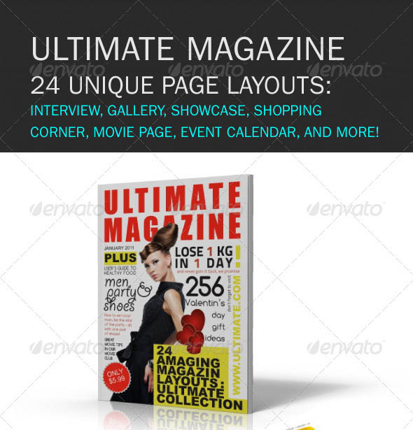 Ultimate Magazine 24 layouts_7