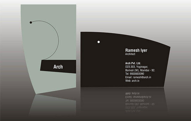 15 Cool Architect Business Cards Inspiration Business