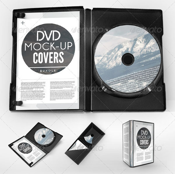 10 Best PSD DVD CD Case Templates | PSD | iDesignow