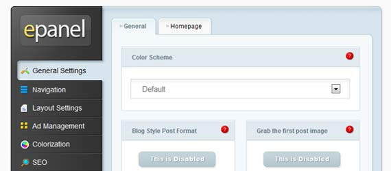 WordPress Theme Option Page Tutorials Plugins & Examples