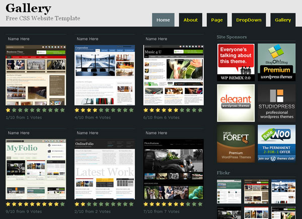15 Best Free HTML Website Templates 2011 | Freebie | Template ...