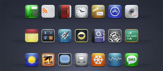 16k Free Icon Sets Made For iPhone