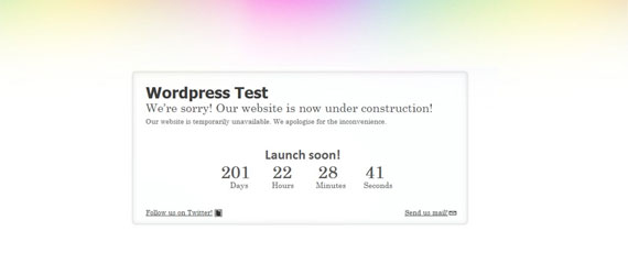 15 Free WordPress Under Construction Themes & Plugins