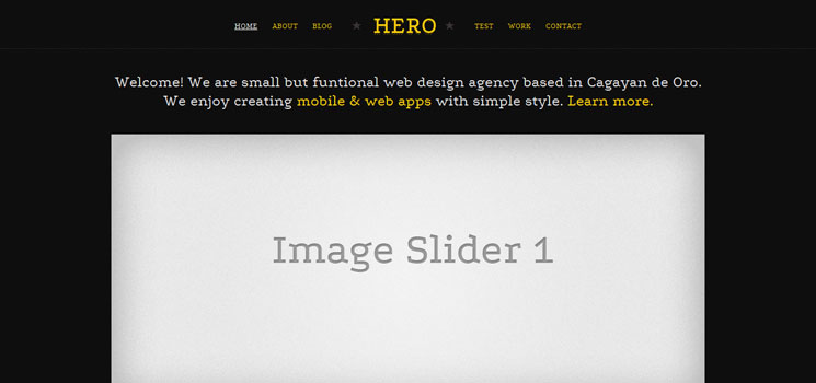 21 One Single Portfolio HTML Templates