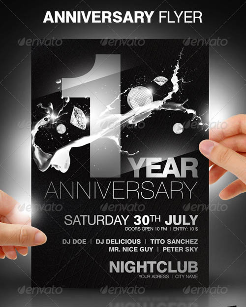 Anniversary Party Flyer_23