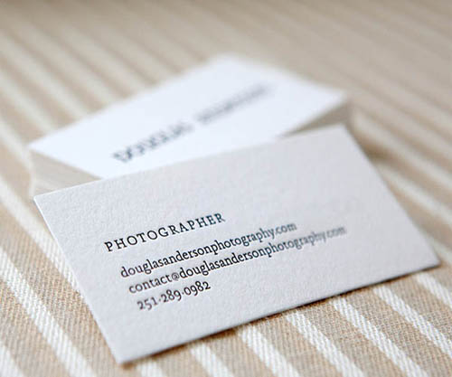 Black And White Letterpress Photography Business Card_25