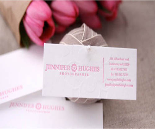 Jennifer Hughes Photographer Business Card_19