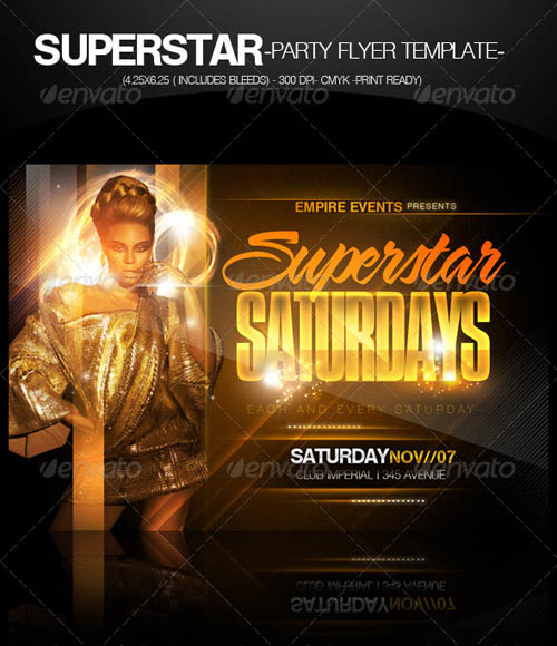 Superstar Saturdays Party Flyer_26