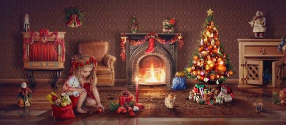 10 Beautiful Christmas Photo Manipulation Arts