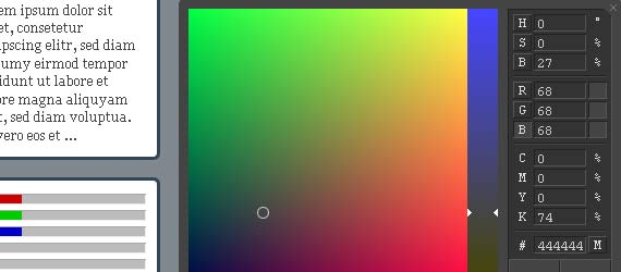 10 Cool Color Picker Scripts