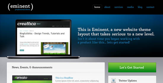Eminent, an ultra clean & professional layout _22