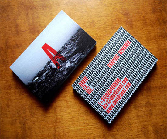 Typography Business Card_1