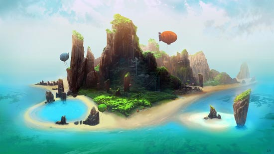 Welcome to Pupua Islands by ani-r