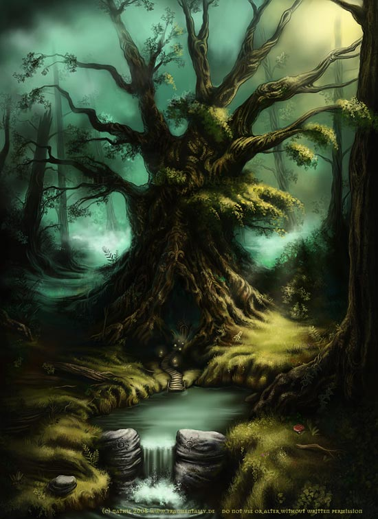 The Old Tree by nathie
