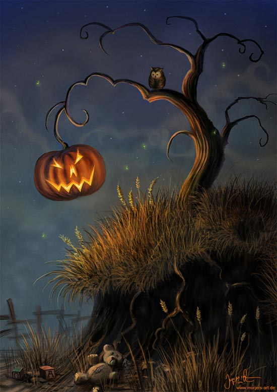 Halloween Tree by jerry8448
