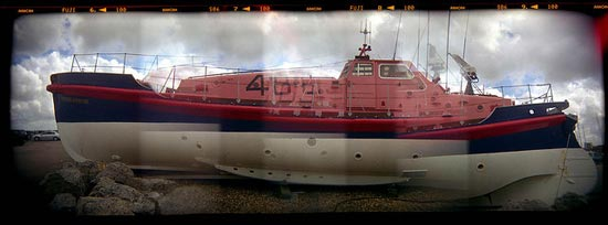 coastguard ship on display by fitzhughfella