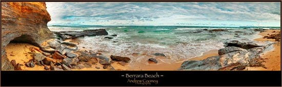 Berrara beach. by Andrew Cooney Photography