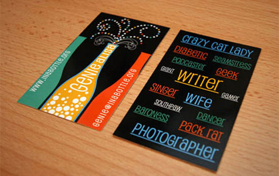 typography business card_11