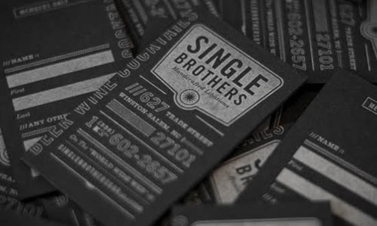 typography business card_12