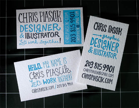typography business card_24