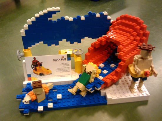 LEGOLAND California Waterpark business card holder_13