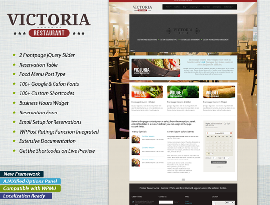 Victoria Premium Restaurant WordPress Theme_8