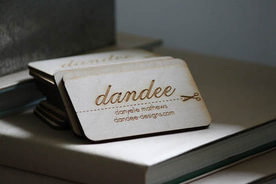 20 Interesting Wood Business Cards | Inspiration | Business Card ...