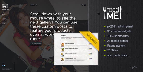 WordPress FoodMe Restaurant Business Theme_7