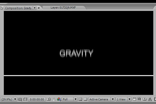 Gravity in After Effects