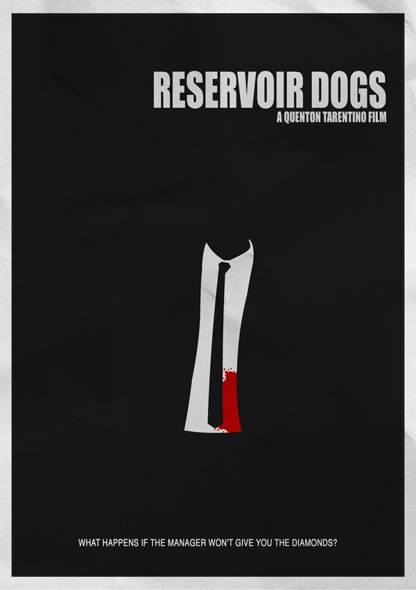 Reservoir Dogs Movie Poster Minimalist Movie Poster