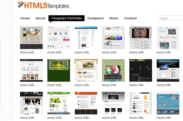 25 beautiful creative html5 portfolio website templates