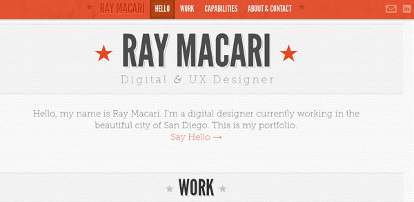 Ray Macari - Digital Designer