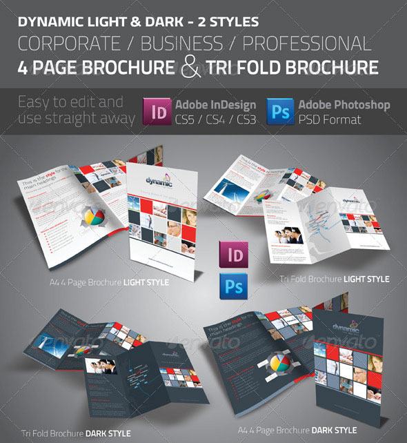50 Business Brochure Templates Template – Business Pamphlet Templates