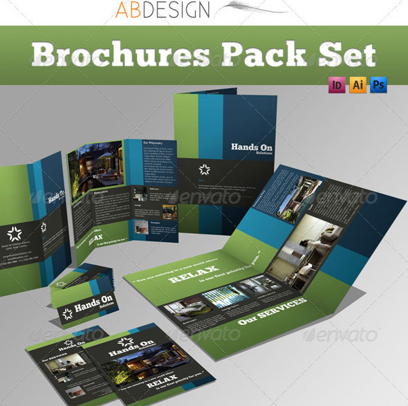Business Brochure Templates Template IDesignow - 2 page brochure template