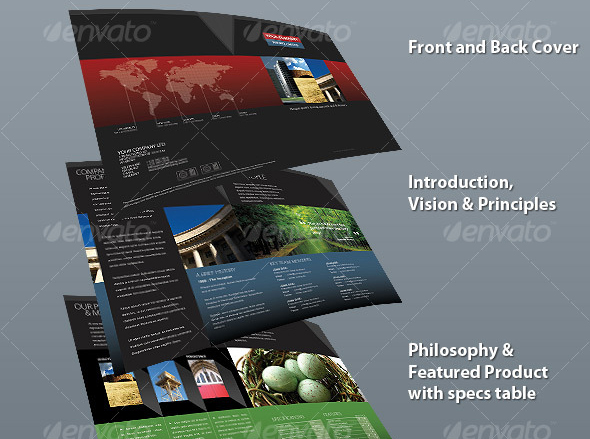 Business Brochure Templates Template IDesignow - Brochure template doc