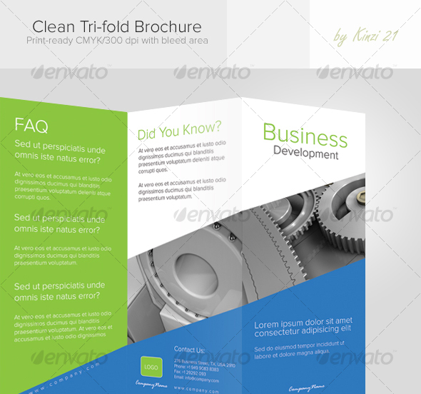 Business Brochure Templates  Template  Idesignow