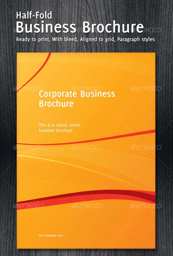 50 Business Brochure Templates Template – Templates for Company Profile