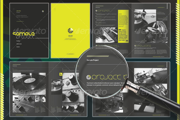 50 business brochure templates | template | idesignow, Presentation templates