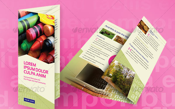 Financial Brochure Tri-Fold