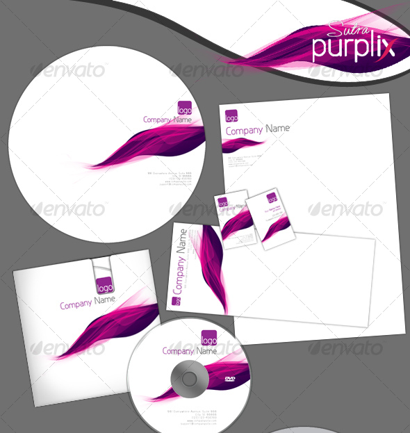 Purplix-sutra Corporate Identity