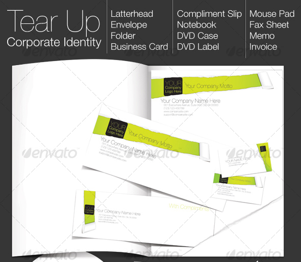 TEAR UP - Corporate Identity