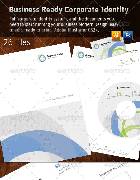 Business Ready Corporate Identity