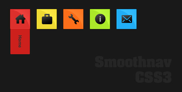 Smoothnav CSS3 menus with transition