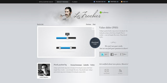 Breezy Freebies website