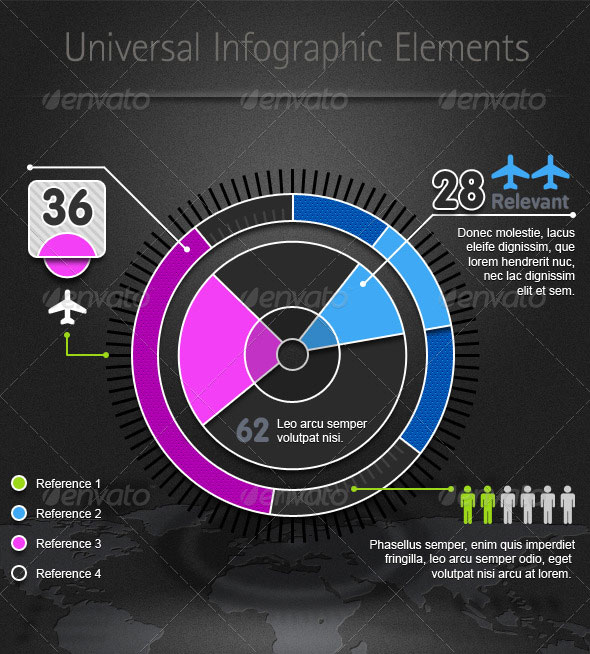 Universal Infographic Elements
