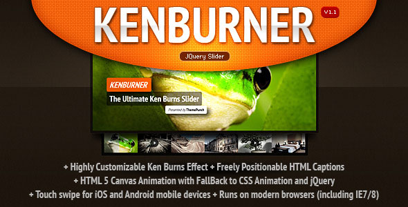 KenBurner Slider jQuery Plugin