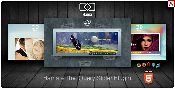 Rama - The jQuery Slider Plugin